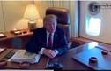 """Thói quen """"xấu"""" của Tổng thống Trump trên các chuyến bay dài"""