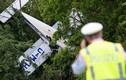Máy bay rơi, phi công và vợ thoát chết kỳ diệu