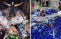 Ý tưởng chụp ảnh có một không hai từ…rác thải nhựa