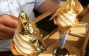Video: Kem ốc quế dát vàng 24k lần đầu xuất hiện ở Hà Nội