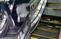 Hãi hùng khoảnh khắc thang máy sập dưới chân người mua sắm