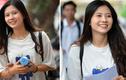 Nữ sinh được tìm kiếm khi xuất hiện rạng rỡ sau buổi thi Ngữ văn