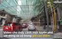 Video: Cần cẩu rơi từ tầng 34 xuống đường trong giờ cao điểm