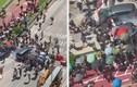 Video: Ôtô lao thẳng vào người biểu tình Hong Kong, hất tung rào chắn