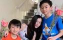 """Trương Bá Chi khoe ảnh cận mặt con trai thứ 3: """"Còn nhỏ đã biết tập yoga"""""""