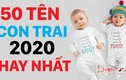 Video: 50 tên bé trai sinh năm 2020 hay nhất giàu sang phú quý cả đời