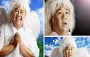 Minh Béo bị ném đá vì đăng ảnh giả thiên thần xua đuổi virus corona