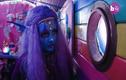 Video: nhuộm da xanh vì muốn trở thành người ngoài hành tinh