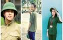 """""""Bóc mẽ"""" nhan sắc thật của các mỹ nhân Việt khi học quân sự"""