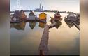 Video: Ngôi làng nổi trên mặt nước không bao giờ đóng băng