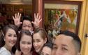 Trường Giang đã chứng minh quan hệ tốt đẹp với gia đình vợ
