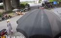 Video: Người phụ nữ suýt chết khi xe ben cuốn xe máy vào gầm