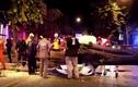 Video: Cây lớn đổ đè bẹp xe, cặp vợ chồng thoát chết trong gang tấc