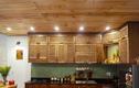 Căn bếp gỗ đậm chất xưa của cặp vợ chồng Đà Nẵng