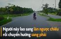 Video: Xe máy đánh võng trước đầu ôtô suýt bị đâm