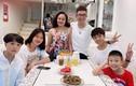 Long Nhật làm điều đặc biệt cho vợ hoa khôi và 4 con