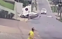 Video: Máy bay rơi xuống khu phố đông đúc ở Brazil