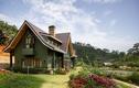 Căn biệt thự gỗ giữa thung lũng tại Lâm Đồng