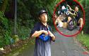 YouTuber NTN thả dốc mạo hiểm bằng xe cút kít từ đỉnh núi