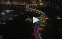 Video: Dân mạng phát sốt với cây cầu mang sắc cầu vồng