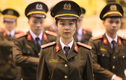Nhan sắc nữ thủ khoa tài năng của Học viện An ninh nhân dân