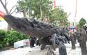 Chiêm ngưỡng siêu cây Chiến thắng Bạch Đằng của đại gia đồng nát