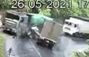 Video: Xe tải vào cua ẩu, đâm trực diện xe ben ở Yên Bái
