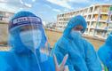 Hình ảnh đẹp trong nhật ký tình nguyện vùng dịch của cặp đôi 9x