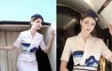 Nữ tiếp viên hàng không xinh đẹp lộ mặt thật khiến fan ngã ngửa