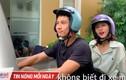 Hậu trường không thể ngờ cảnh Thanh Sơn chở Khả Ngân trên xe máy