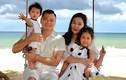 NSND Tự Long hạnh phúc bên vợ giáo viên xinh đẹp và các con
