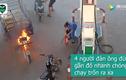 Video: Cư dân mạng phát sốt vì clip quả chanh lăn xuống dốc