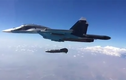 Cận cảnh chiến đấu cơ Su-34 thả bom diệt boongke đầy uy lực