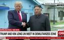 Tổng thống Mỹ có mặt tại DMZ, gặp Nhà Lãnh đạo Triều Tiên thành công