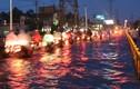 """Triều cường, mưa lớn lại """"nhấn chìm"""" TP HCM trong biển nước"""