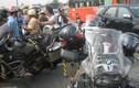 Đoàn du lịch môtô Thái Lan bị CSGT phạt