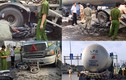 Hiện trường TN kinh hoàng xe bồn tông nhiều xe máy ở Sài Gòn
