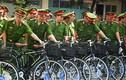 Lần đầu tiên cảnh sát TPHCM tuần tra bằng xe đạp