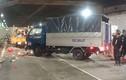 Xe tải tông hàng loạt công nhân trong hầm vượt sông Sài Gòn