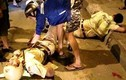Truy bắt 2 nghi can cướp tài sản, đạp CSGT ngã trọng thương
