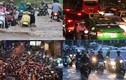 Đường về nhà của người Sài Gòn lại ngập nước, kẹt xe kinh hoàng
