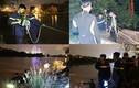 Ảnh: Cảnh sát trắng đêm tìm nữ kiểm sát viên ôm con nhảy sông