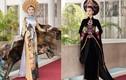"""""""Nữ hoàng Sắc đẹp Toàn cầu"""" thướt tha áo dài ở bảo tàng"""