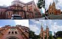 Ảnh: Rào chắn nhà thờ Đức Bà ở Sài Gòn để trùng tu