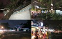 TP.HCM: Mưa giông sấm sét kinh hoàng, cây ngã đè nhà dân trước bão số 14