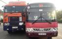 Hãi hùng nín thở xe bus rượt đuổi container gây TNGT kinh hoàng