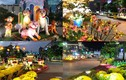 Cận cảnh đường hoa Nguyễn Huệ đẹp lung linh trước giờ khai mạc