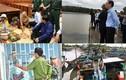 Những hình ảnh đối phó bão số 9 ở huyện vùng biển TP.HCM