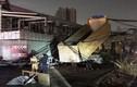 Trụ điện trung thế ngã gây tiếng nổ lớn, nhiều khu vực mất điện