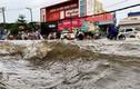 TP HCM: Hồ điều tiết thông minh chống ngập bị ngập lụt sau mưa lớn